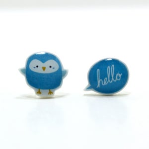 Image of Hello There Little Bird Earrings