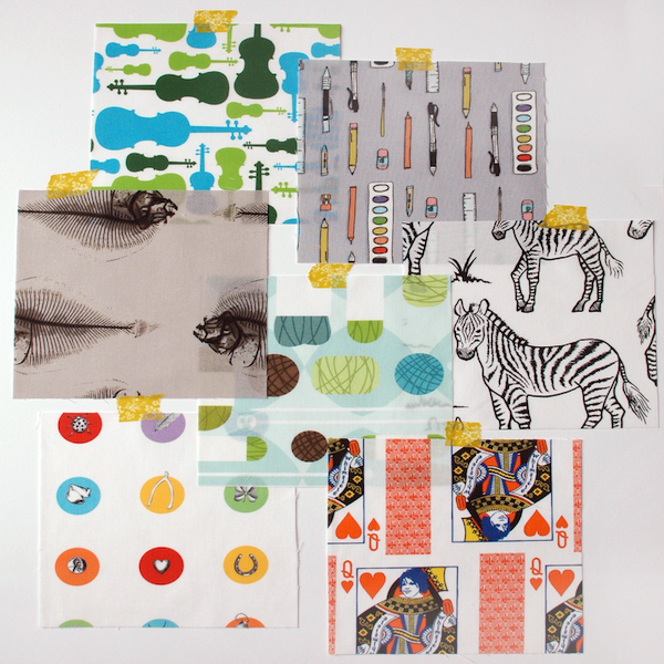 Image of Spoonflower I Spy Assortment: Alpha Set