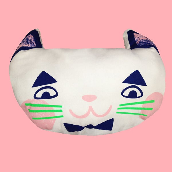Image of MEOW FACE CAT CUSHION