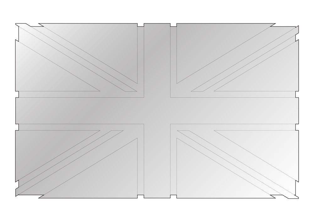 Image of Flag Mirror