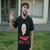 Image of captain picard (make it so) tee