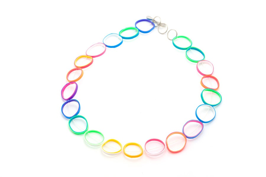 Image of RUBBER BAND NECKLACE