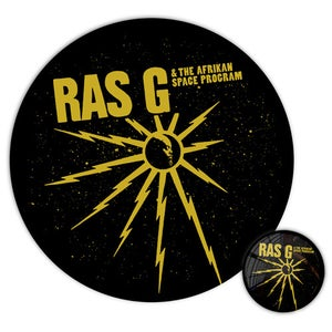 Image of RAS G - BUTTON & STICKER Set