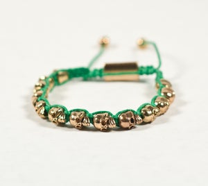 Image of  Skull Head Bracelets - Green