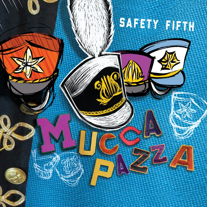 Image of Mucca Pazza - Safety Fifth LP + Free Download Card! (ECR703)