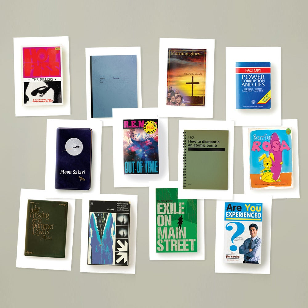 Image of The Record Books Postcard Set 2