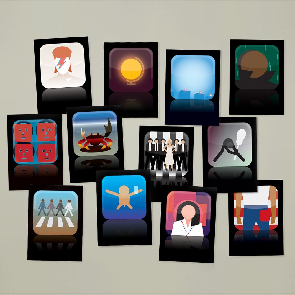 Image of Now Apps What I Call Music! Postcard Set 1