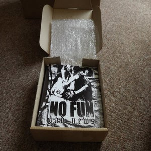 Image of No Fun - Bad News 7'' MOSH008