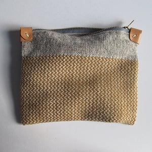Image of Handwoven Zipper Pouch - Medium - No. 1