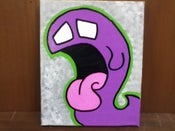 Image of Purple Ghost Stretch Canvas