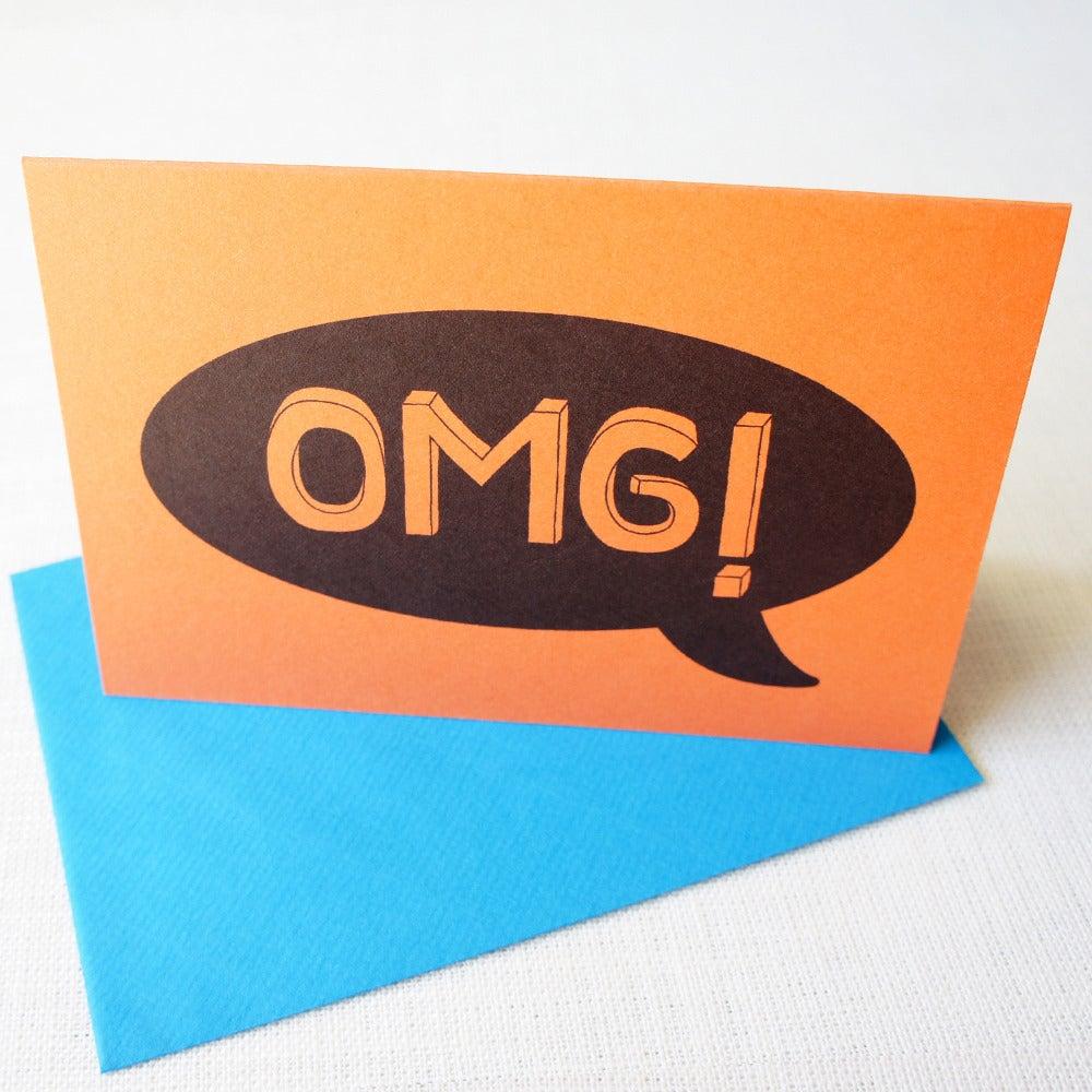 Image of OMG card