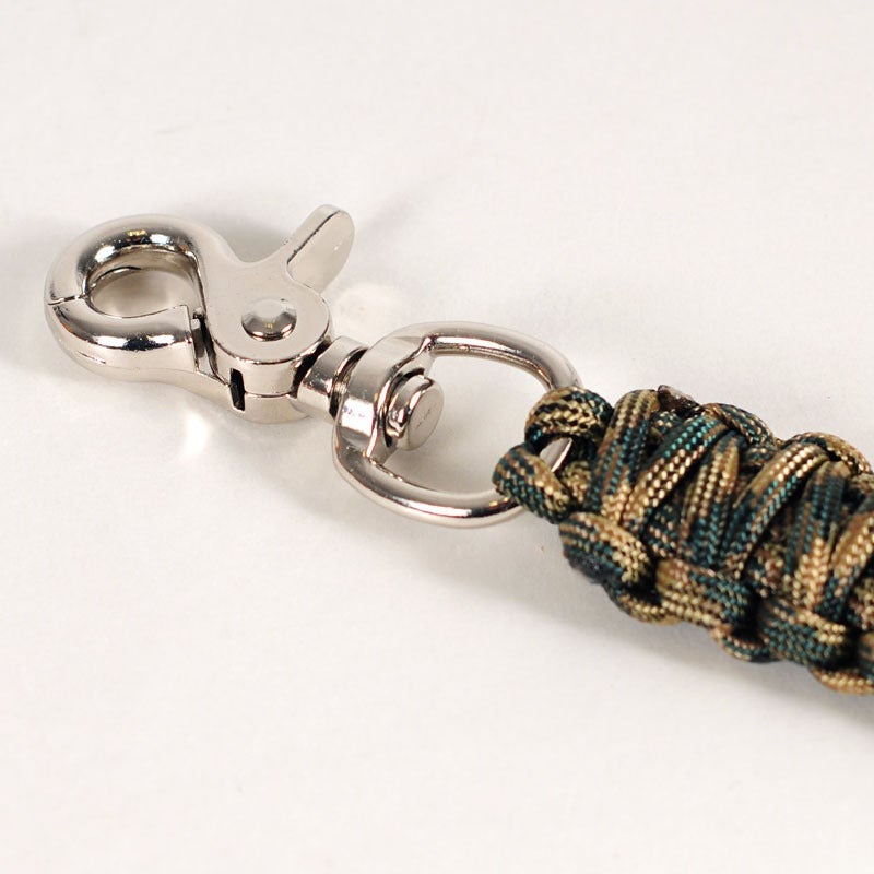 Image of Paracord Keyclip - Forest Camo