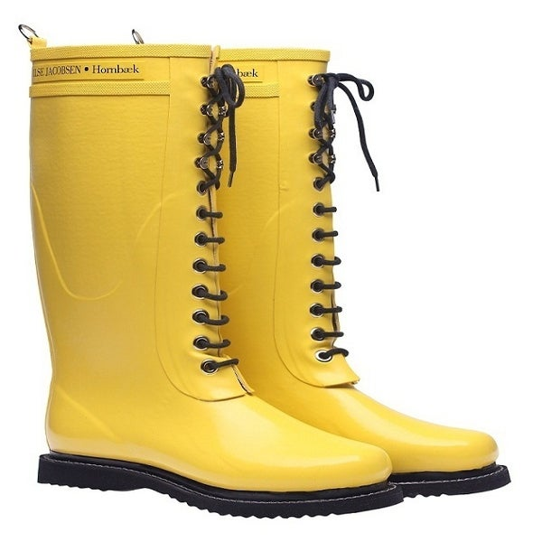 Image of Ilse Jacobsen Rubber Boots - Tall, Yellow
