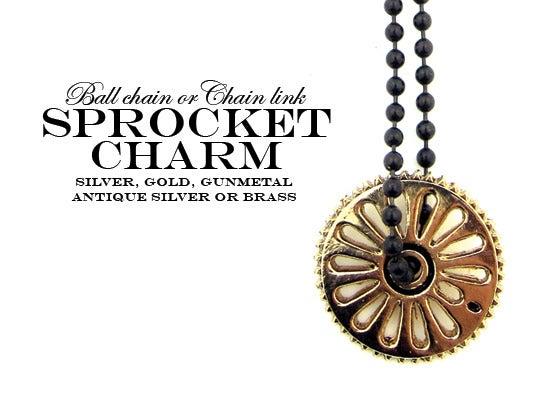 unionthebrand sprocket charm necklace