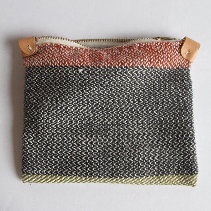 Image of Handwoven Zipper Pouch - Medium - No.2
