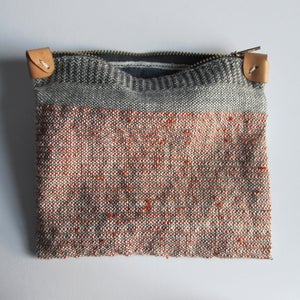 Image of Handwoven Zipper Pouch - Medium - No. 3