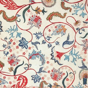 Image of HAND PAINTED CHINTZ