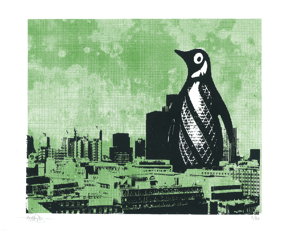 Image of London Penguin - Green