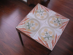 Image of Tongues of fire Version II end table