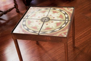 Image of Mexican hat end table