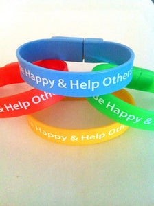 Image of Be Happy & Help Others Bracelets