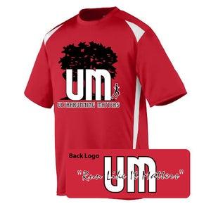 Image of Ultrarunning Matters Mens Red Running Shirt