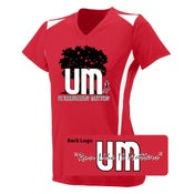 Image of Ultrarunning Matters Womens Red Running Shirt