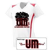 Image of Ultrarunning Matters Womens White Running Shirt