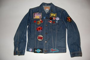 Image of RUSH Denim Jacket - Vintage/Very Rare