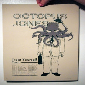 Image of Screen Printed Tour Poster