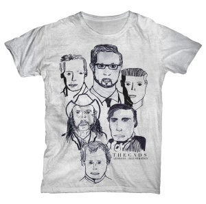Image of Cads 'Faces' Tee