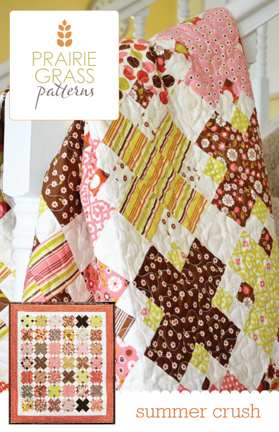 Image of Summer Crush: Quilting Pattern #114