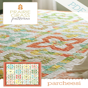 Image of Parcheesi: PDF Quilting Pattern #116