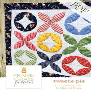 Image of Sweetie Pie: PDF Quilting Pattern #117