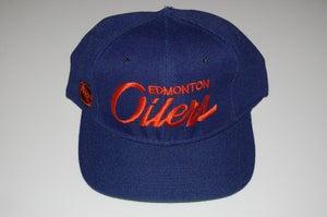 Image of Edmonton Oilers Vintage Snapback
