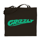 Image of BLACK GRIZZLY TOTE BAG /// LIMITED EDITION