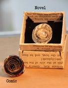 Image of Paper Rose Rings