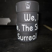 "Image of We, The Surreal Logo 3/4"" wristband"