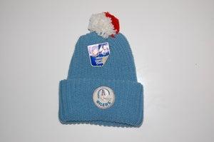 Image of Houston Oilers Vintage Winter Hat - Solid