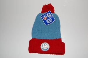 Image of Houston Oilers Vintage Winter Hat - Mixed