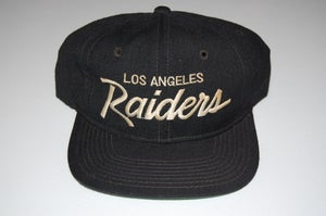 Image of Los Angeles Raiders Vintage Snapback - Solid