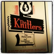 Image of The Knitters & The Hula Girls Poster
