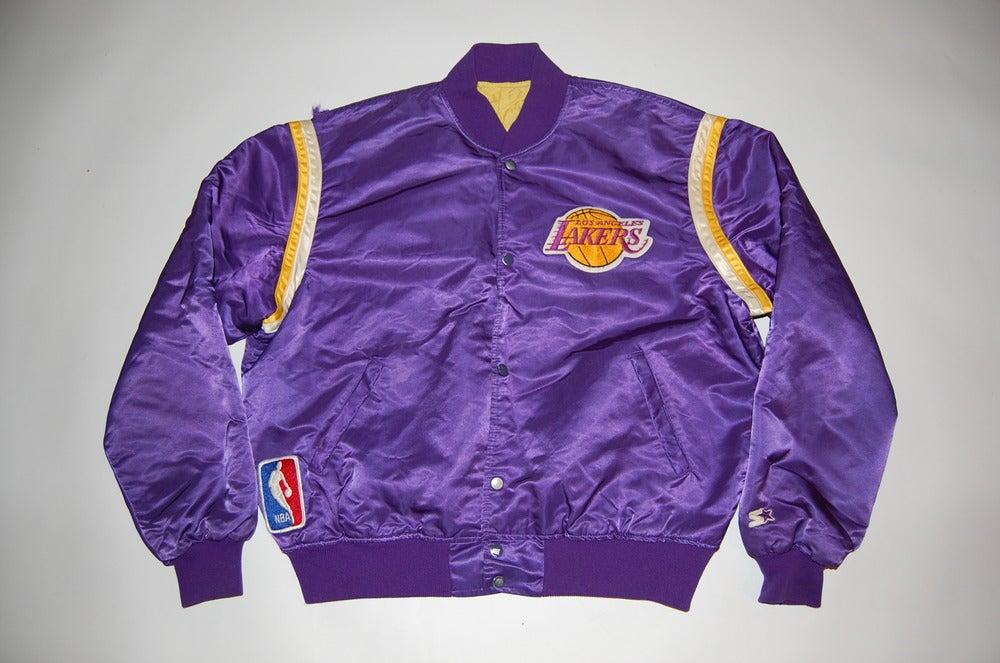 Image of Los Angeles Lakers Vintage Starter Jacket