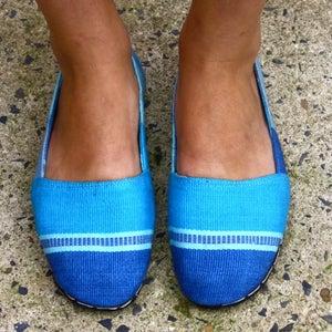 Image of Turquoise/Blue Espadrille