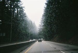 Image of .slippery roads.