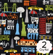 Image of #2 City Kid Fabric