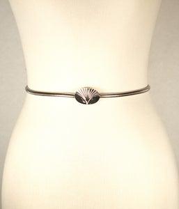 Image of Silver Chain Waist belt