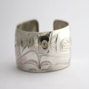 Image of Silver Lovebirds Bracelet