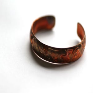 "Image of 1/2"" Copper Sitka Rose"