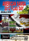 Image of AMERICAN SAMOA FLAG DAY 2012 - DOUBLE DVD!